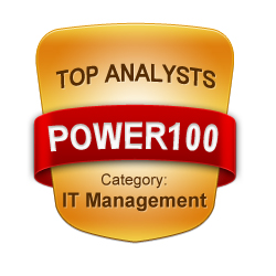 POWER100 - Top IT Management Analysts