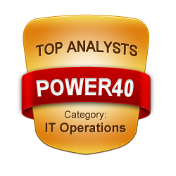 POWER40 - Top IT Operations Analysts